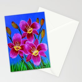 Day lilies Stationery Cards