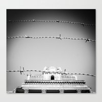 religious Canvas Prints featuring Religious Imprisonment by Jake Metzger Photography
