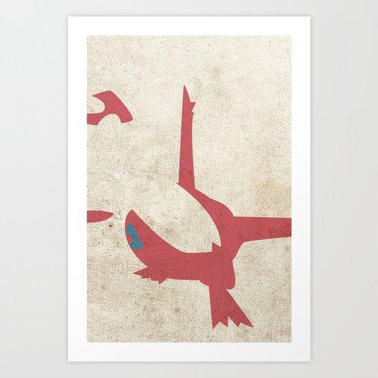 Latias Art Print