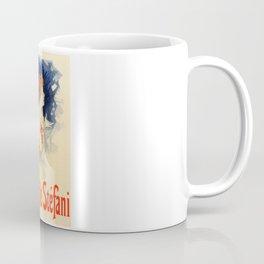 Belle Epoque vintage poster, Camille Stefani Coffee Mug
