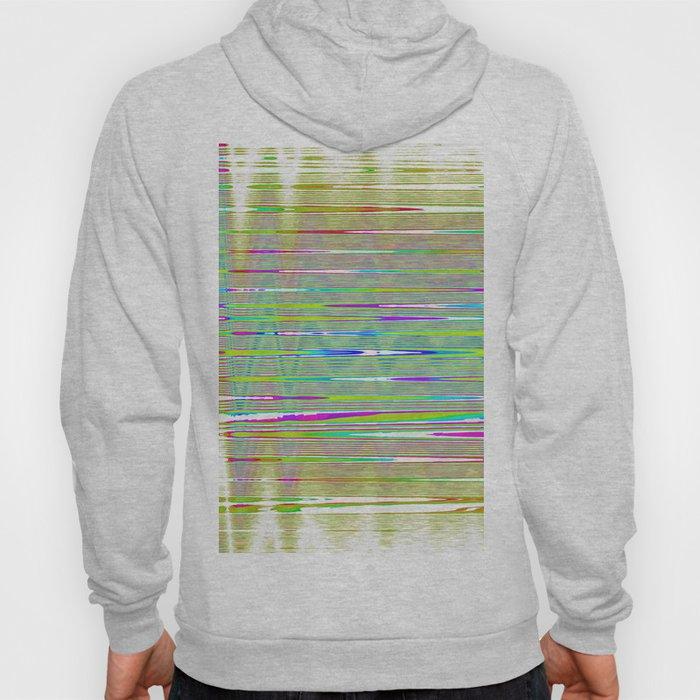 rainbow static Hoody