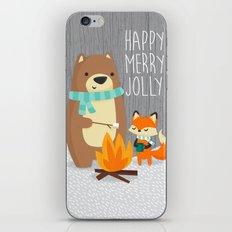 Happy Merry Jolly iPhone & iPod Skin
