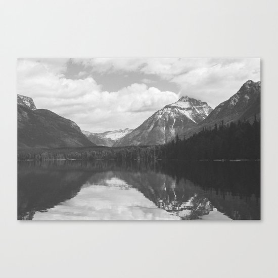 Peace At Lake McDonald  Canvas Print