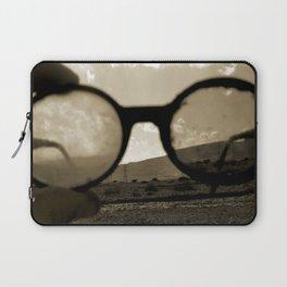 Glasses on the Horizon Laptop Sleeve