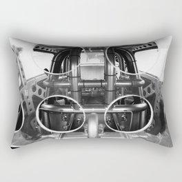 The Big Boys Jungle Gym - Vulcan II Hot Rod Dragster Rectangular Pillow