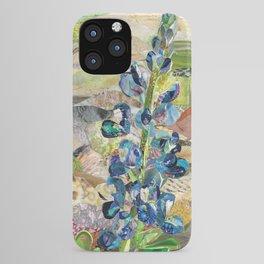 Texas Bluebonnet Collage iPhone Case