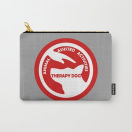 Animal Assisted Activities  - THERAPY DOG logo 4 Carry-All Pouch