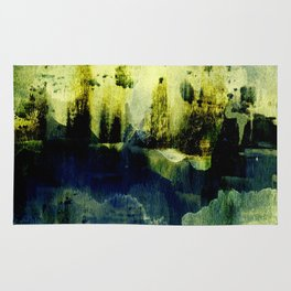 abstract landscape with light Rug