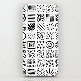 Doodles iPhone Skin