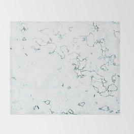 Marble Elegance Throw Blanket