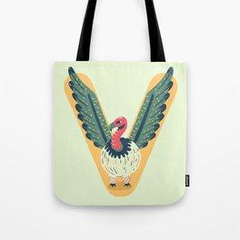 V for Vulture Tote Bag