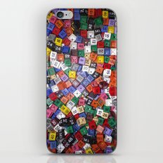 It is not the size of a person but the size of the heart that matters :) iPhone & iPod Skin