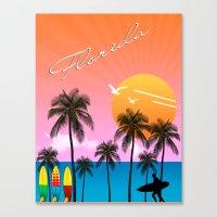 florida Canvas Prints featuring Florida  by mark ashkenazi