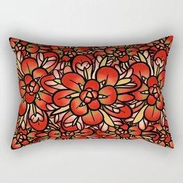 Indian Paintbrushes Rectangular Pillow