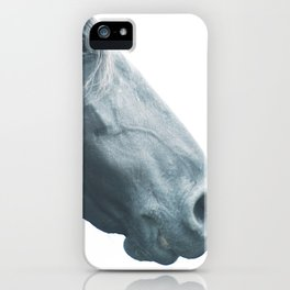 Horse head - fine art print n° 2, nature love, animal lovers, wall decoration, interior design, home iPhone Case