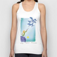 le petit prince Tank Tops featuring Le Petit Prince by karicola