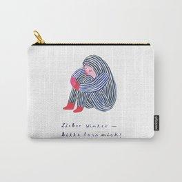 Lieber Winter, bitte lass mich Carry-All Pouch