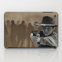 carl sagan iPad Cases featuring Carl by Richtoon