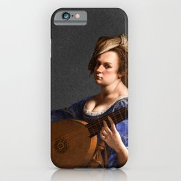 Artemisia Gentileschi, c. 1616 iPhone Case