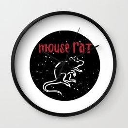 Mouse Rat 2 Wall Clock