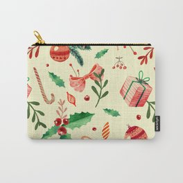 MERRY CHRISTMAS4 Carry-All Pouch