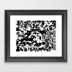 42 Framed Art Print
