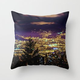 Medellin Night Moves Throw Pillow
