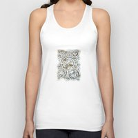 aztec Tank Tops featuring aztec by Vin Zzep