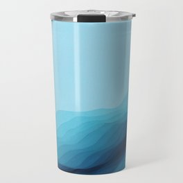 Glacial Crevasse Travel Mug