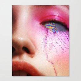 EYE_GLTCH Canvas Print