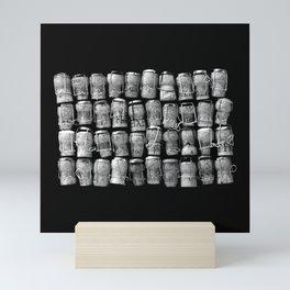 Something Nostalgic 4 Black and White #decor #society6 #buyart Mini Art Print