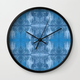 Burnt & Rusted Wall Clock