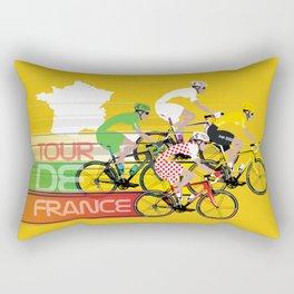 Tour De France Rectangular Pillow