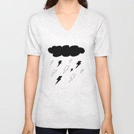 Cloudy Sky Unisex V-Neck