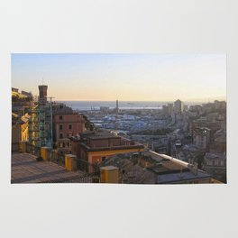 Tramonto a Genova 2 Rug