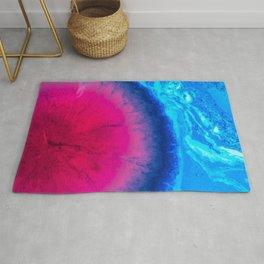 3D Colorfol Blackhole Illustation Rug