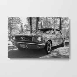 Classic Muscle Car Metal Print