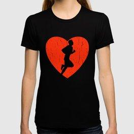 RUNNING VINTAGE DESIGN T-shirt