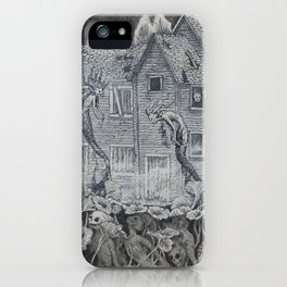 Lotus Teeth (collaboration with Kevin Newell of Evergreen Illustration) iPhone Case