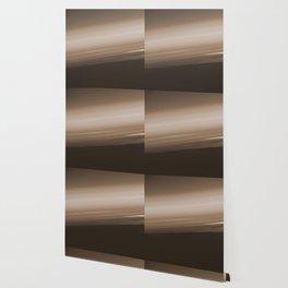 Sepia Brown Ombre Wallpaper