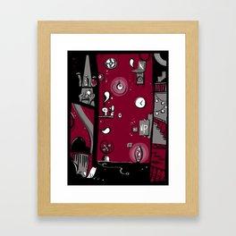 Dark toy Framed Art Print