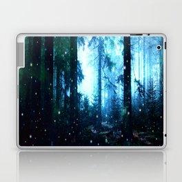 Fireflies Night Forest Laptop & iPad Skin