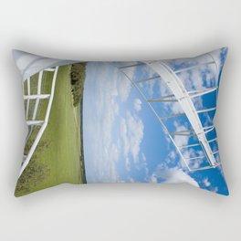 Horsey Windpump - Windmill Rectangular Pillow