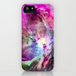 NEBULA ORION HEAVENLY CELESTIAL MIRACLE iPhone Case