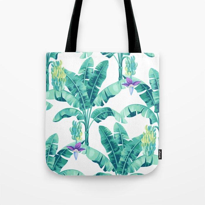 Banana leaf bloom Tote Bag