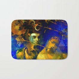 Shiva The Auspicious One - The Hindu God Bath Mat