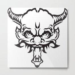 Demon Devil Metal Print