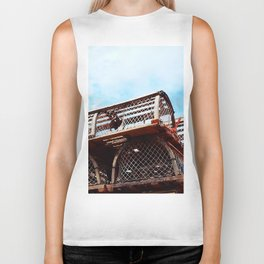 Lobster Trap Stack Biker Tank