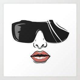 Diva's vibe Art Print