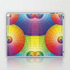 Rainbow Pretty Circles Color Wheel Awesome Thing Laptop & iPad Skin